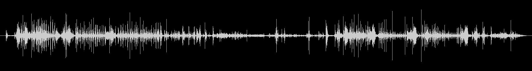 西会津町 - 伝統産業 和紙を剥がす音の未再生の波形