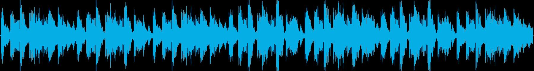 Breakメロディアスな新しい楽曲ですの再生済みの波形