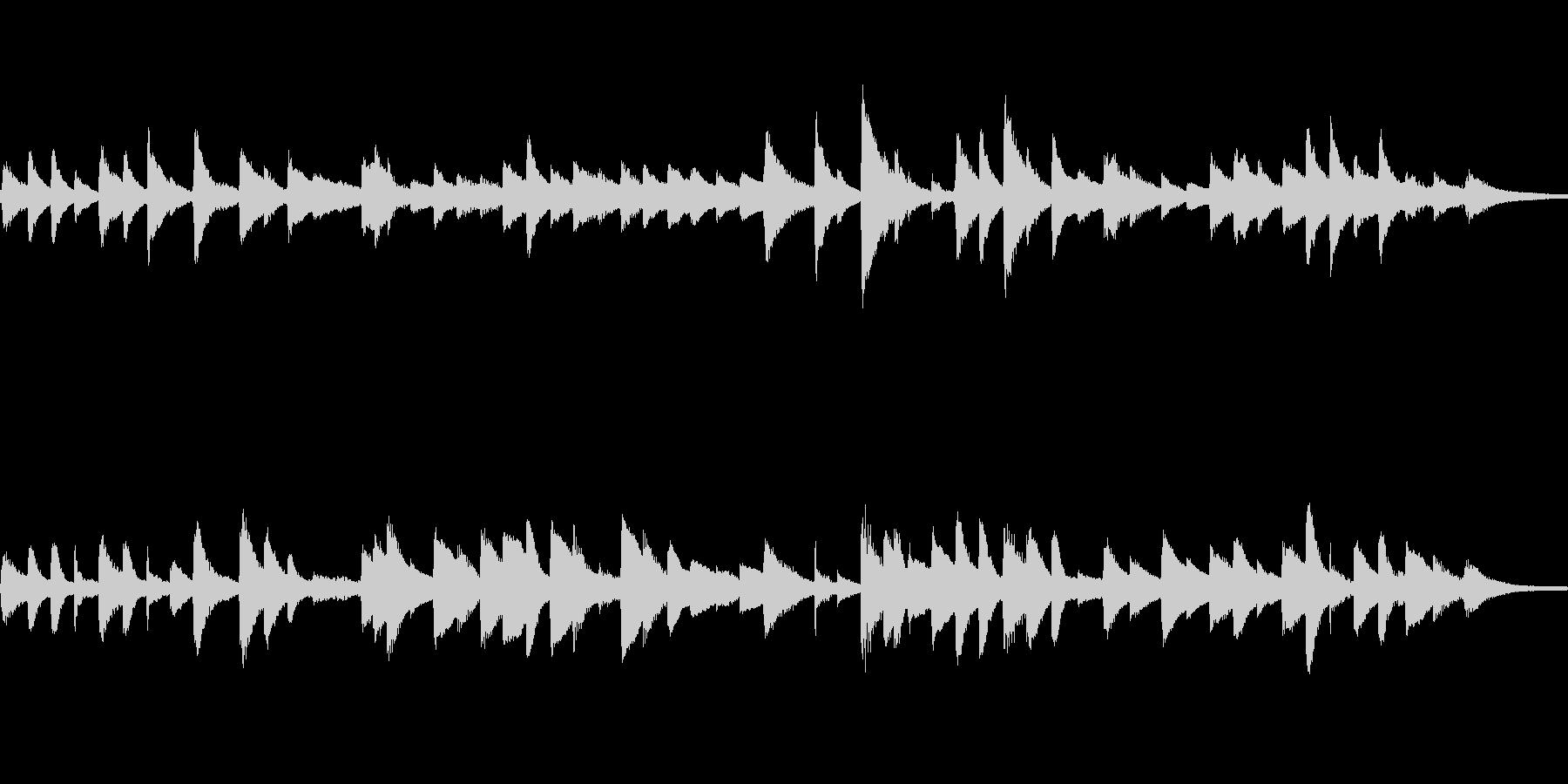 童謡「ひな祭り」ピアノソロ ループ仕様の未再生の波形