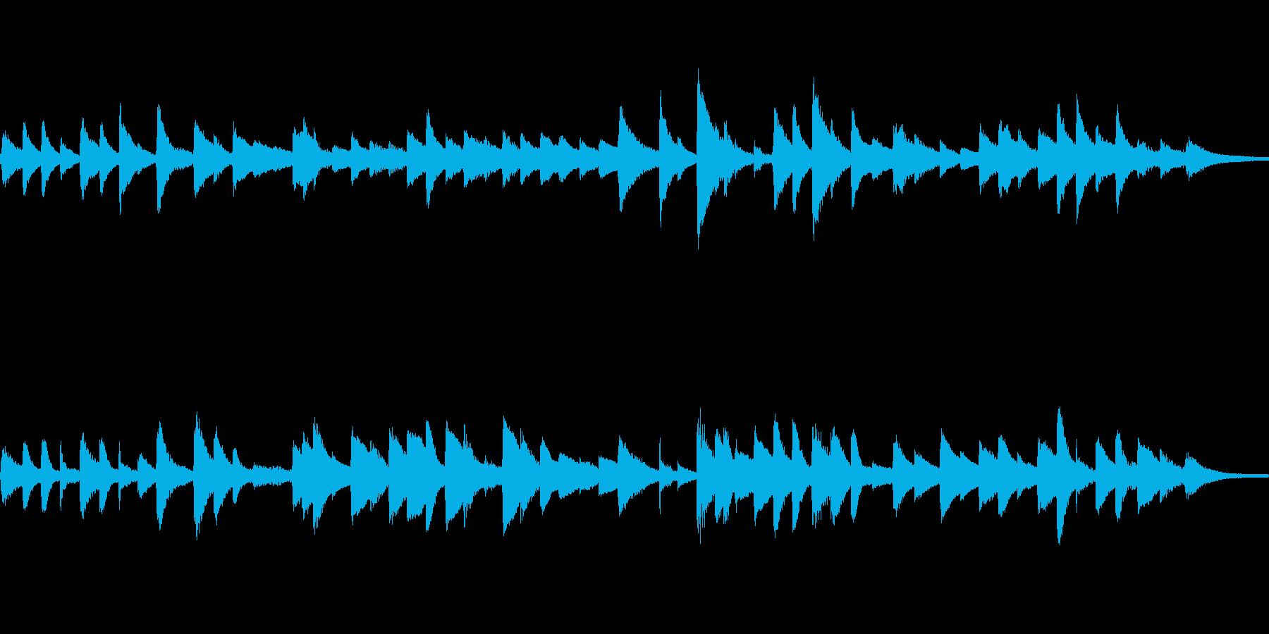 童謡「ひな祭り」ピアノソロ ループ仕様の再生済みの波形