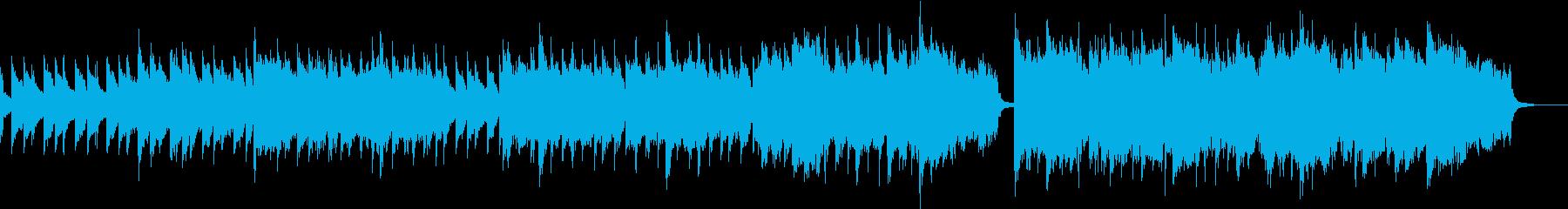 アコーディオンとバグパイプ の明るい楽曲の再生済みの波形