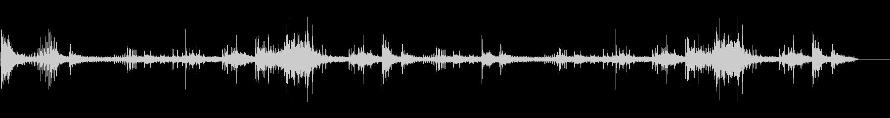 エスニックなFXサウンド02の未再生の波形