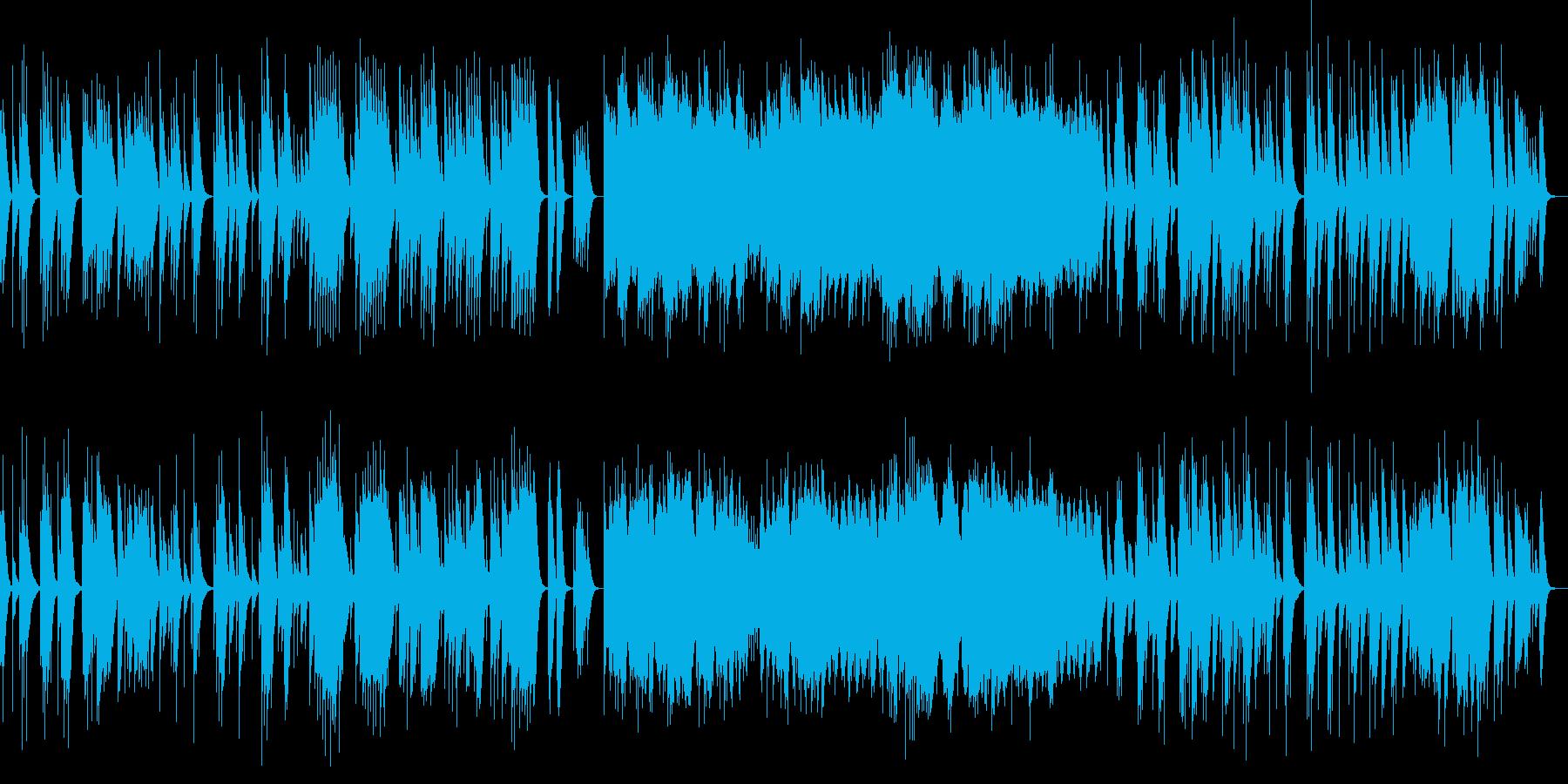 ベルガマスク組曲 月の光 オルゴールの再生済みの波形