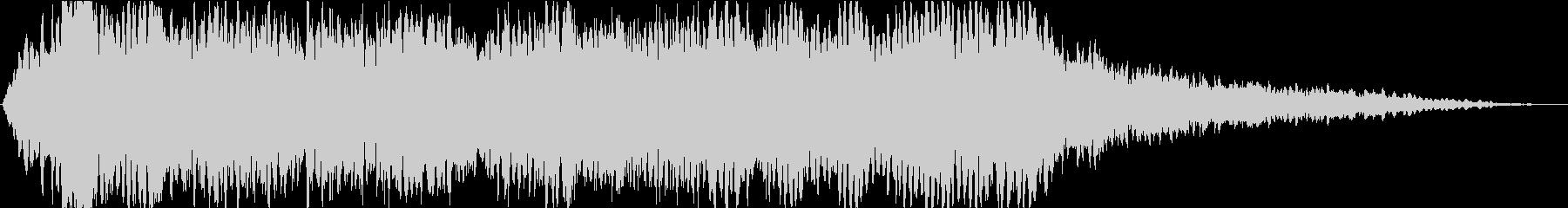 ドローン クレイジーエレファント03の未再生の波形