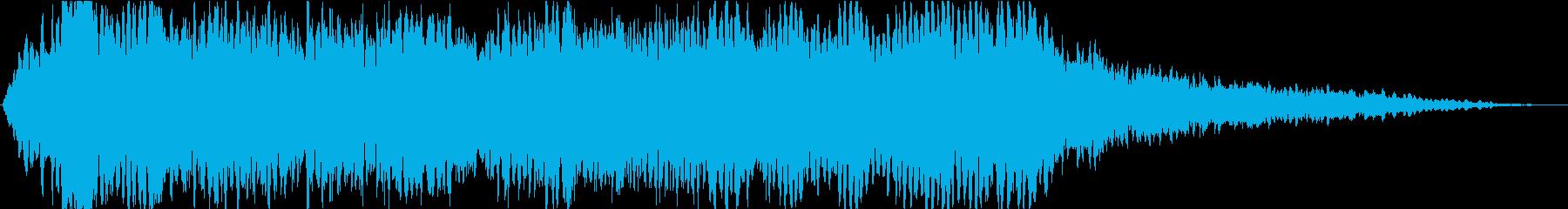 ドローン クレイジーエレファント03の再生済みの波形