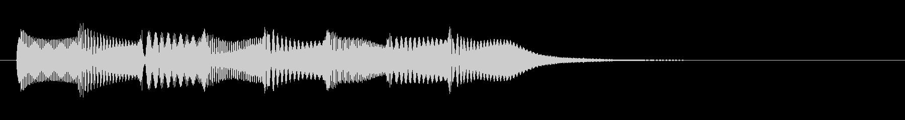 KANTシンセサウンドジングル62の未再生の波形