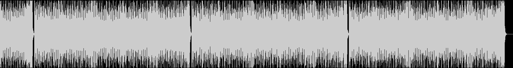 13秒でサビ、電子音ダーク/カラオケの未再生の波形