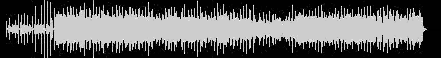 ピアノを使ったゲームのBGMの未再生の波形
