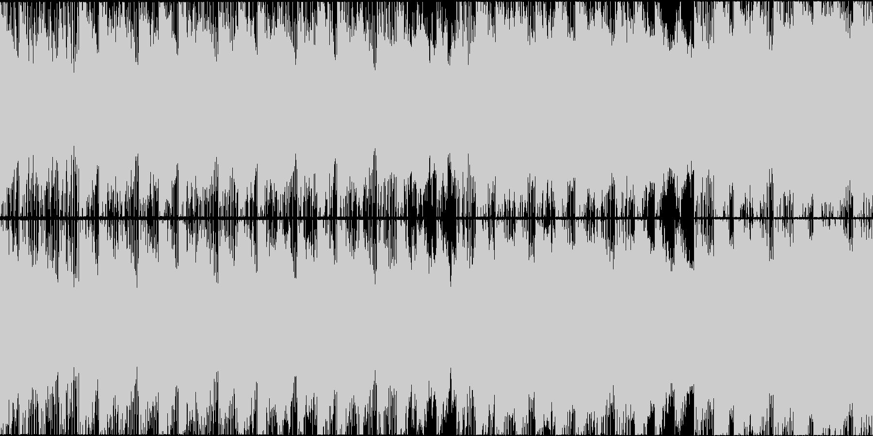 幻想的で穏やかなエレクトロR&Bループの未再生の波形