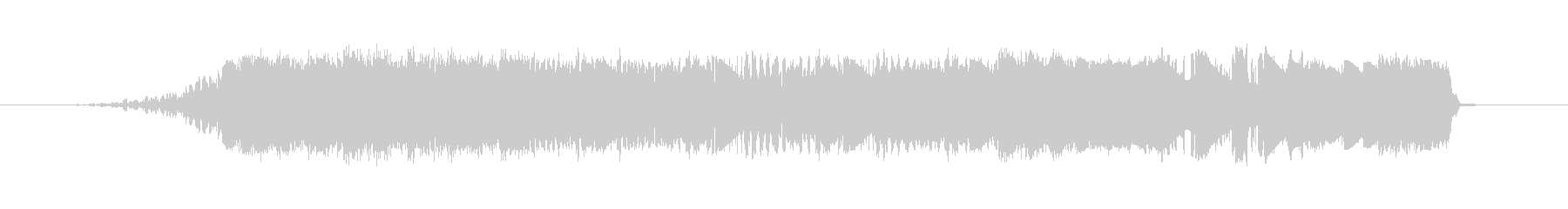 クイックグリッティスクランブルウーシュ3の未再生の波形