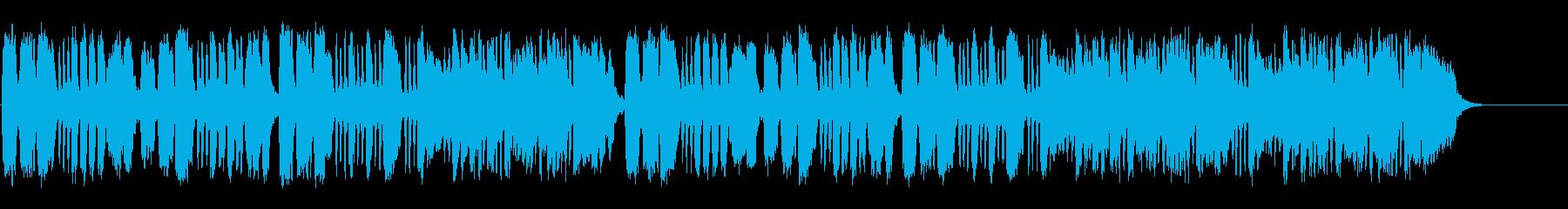室内楽の夕べの正統派セミクラ風弦楽四重奏の再生済みの波形