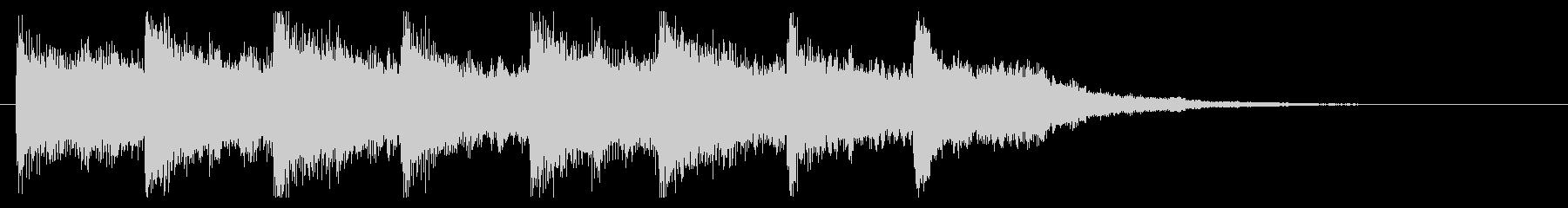 センチメンタルなキラキラジングルの未再生の波形