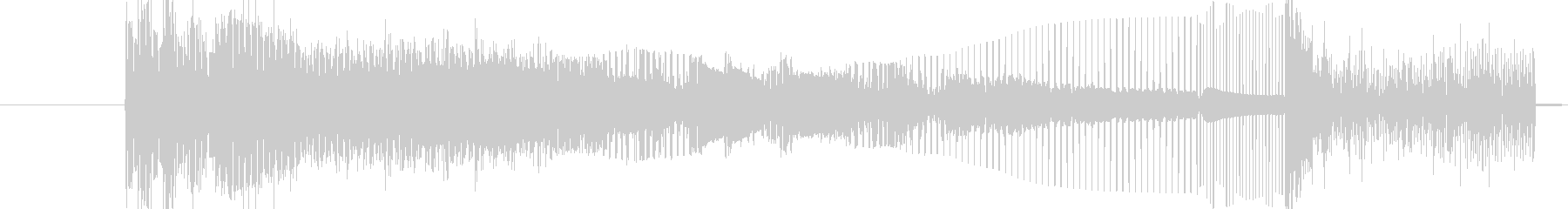 ワイルドバージョン3の未再生の波形