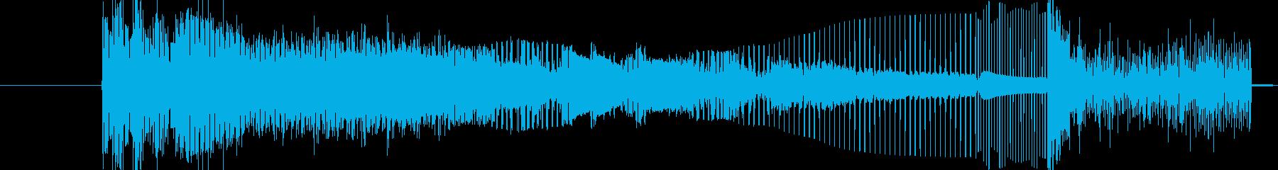 ワイルドバージョン3の再生済みの波形