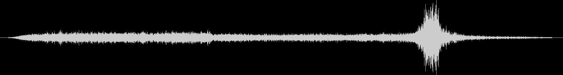 空母:Int:フライトデッキ:打ち...の未再生の波形