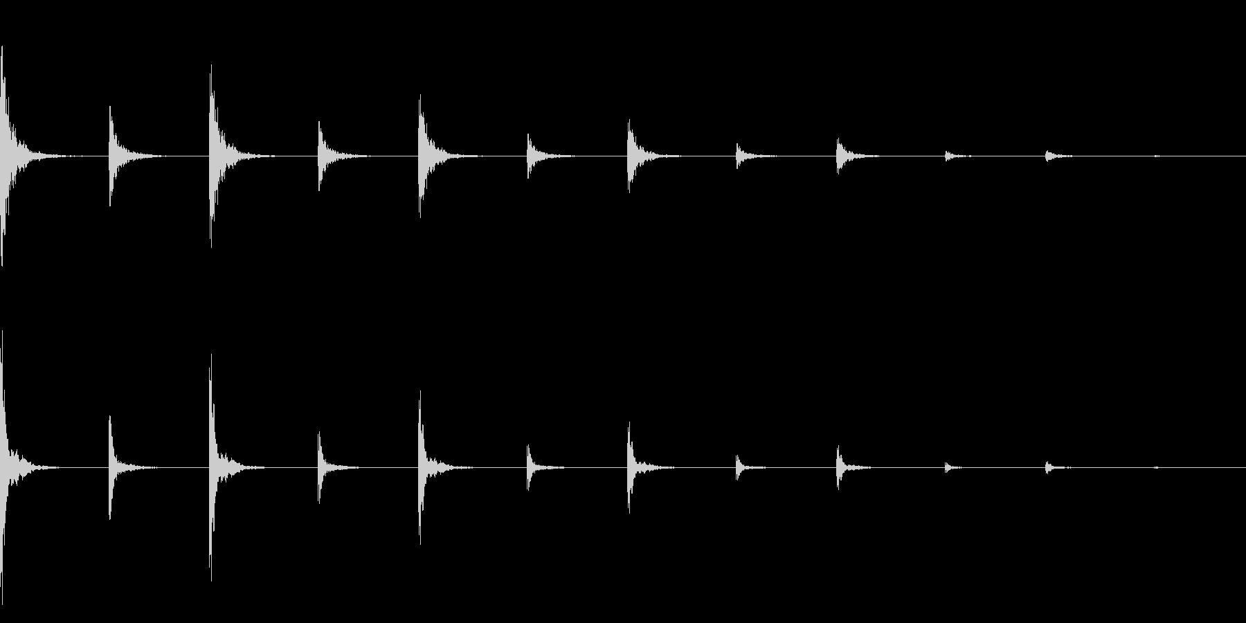 時計、タイマー、ストップウォッチ_A_6の未再生の波形