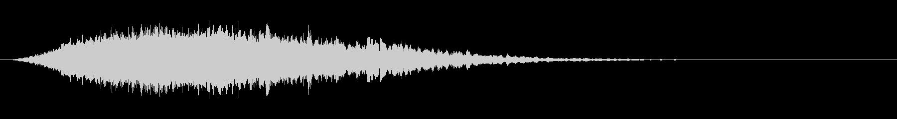 高弦楽器アクセントの未再生の波形