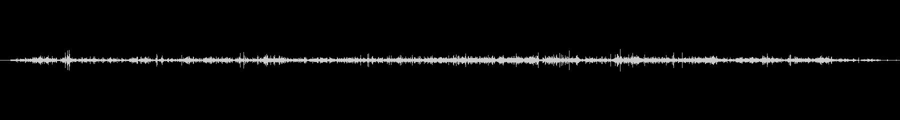 紙 スタッフィングペーパーラッスル01の未再生の波形