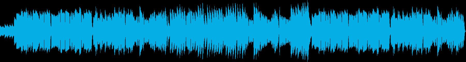 平和な日常を表した様な可愛らしい旋律の曲の再生済みの波形