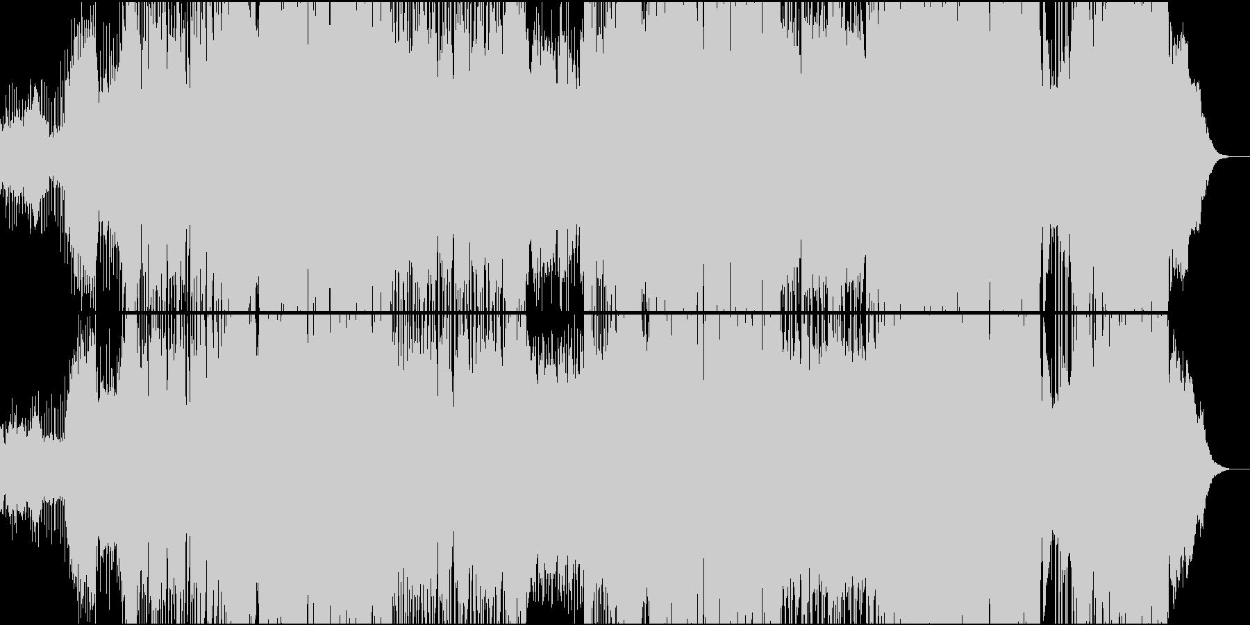 dub step futurebass系の未再生の波形