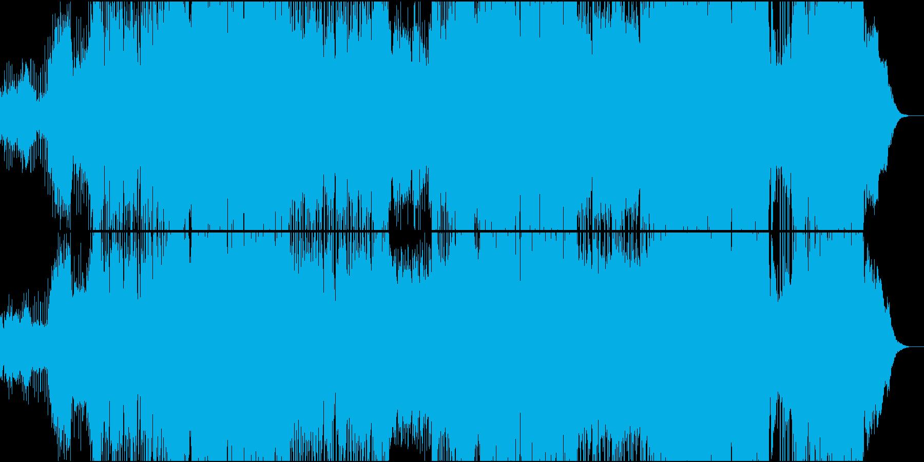dub step futurebass系の再生済みの波形