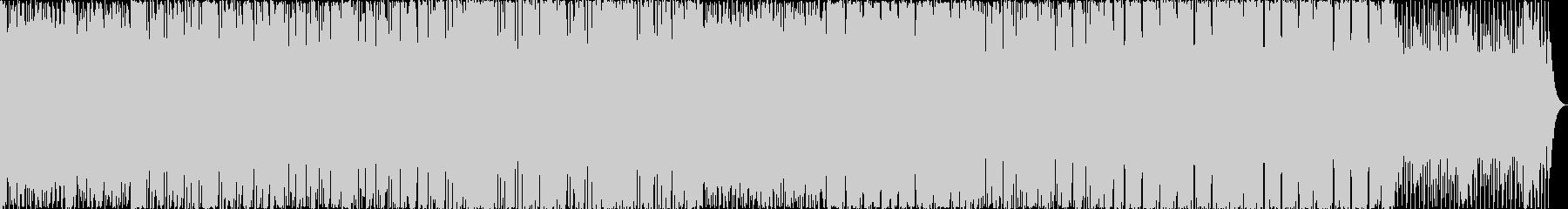 カッティングギタがかっこいいフュージョンの未再生の波形