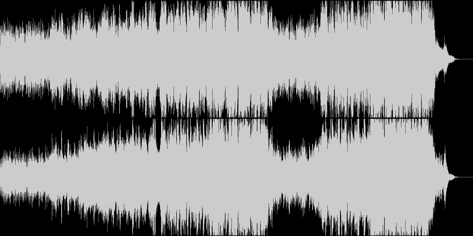ハリウッド風ピアノ+オケ5 打&高音弦抜の未再生の波形
