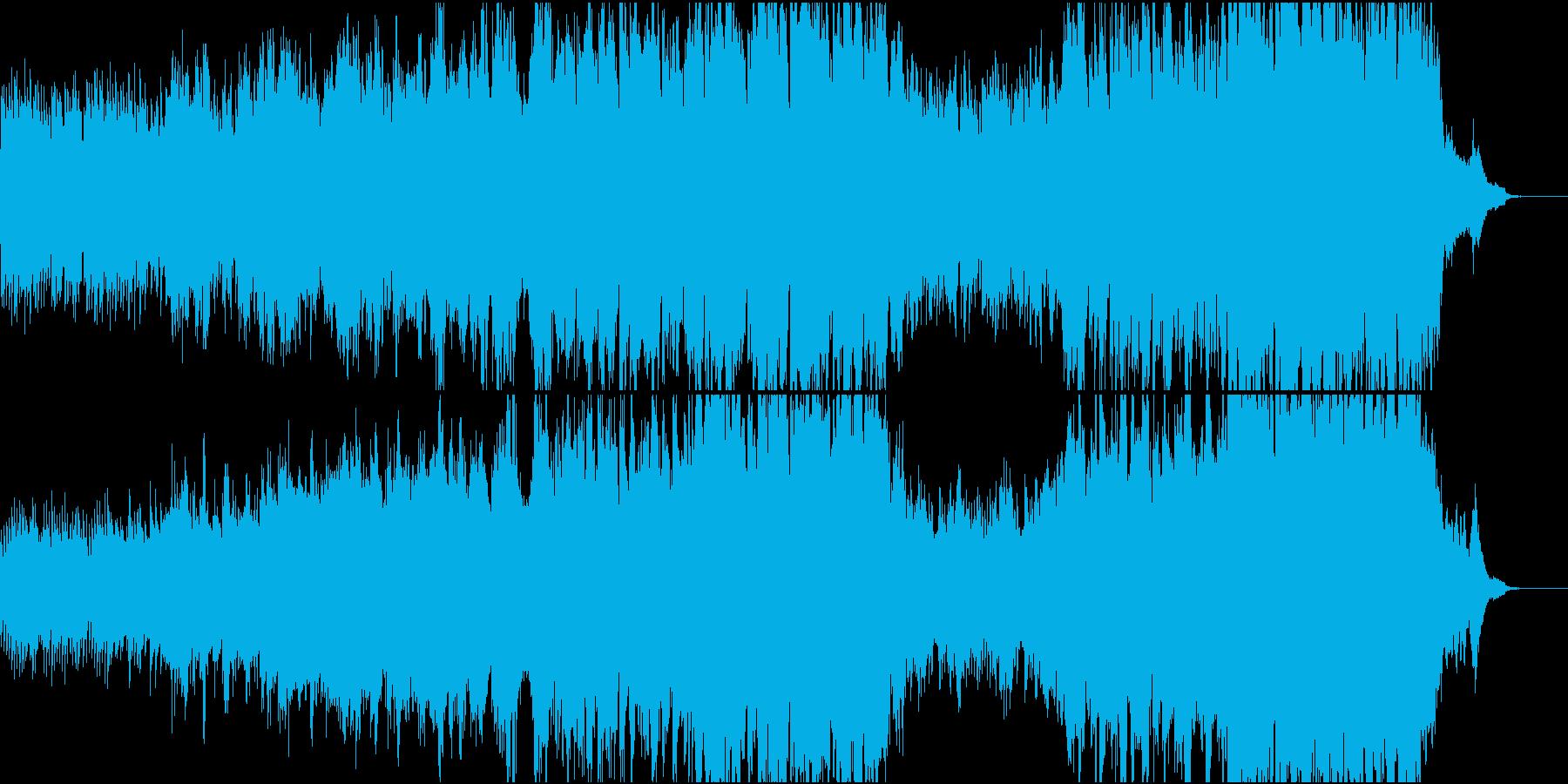 ハリウッド風ピアノ+オケ5 打&高音弦抜の再生済みの波形