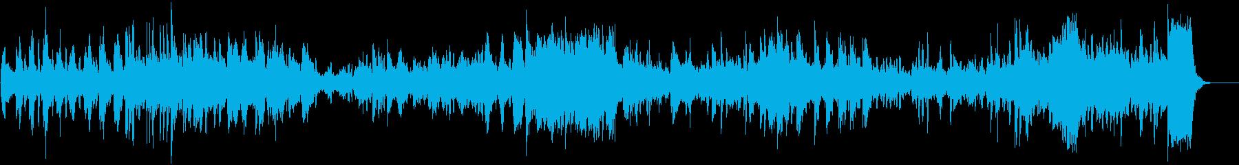 バッハの無伴奏チェロ組曲よりプレリュードの再生済みの波形