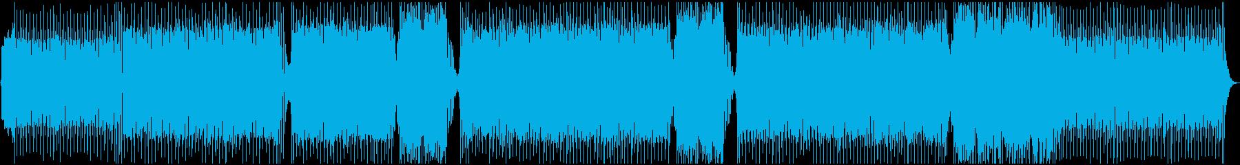 メロディックダンス。大きな音がしつ...の再生済みの波形