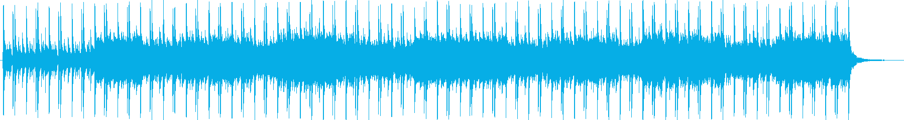 マンドリンとバグパイプの牧歌的な曲の再生済みの波形