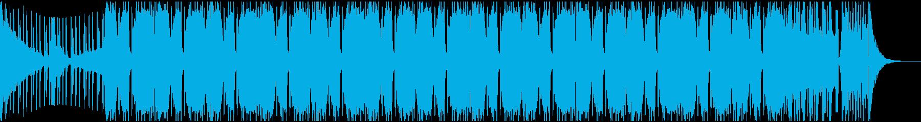 シンプルなバトル系riddim loopの再生済みの波形
