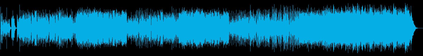 東京をイメージしたpopなジャズの再生済みの波形