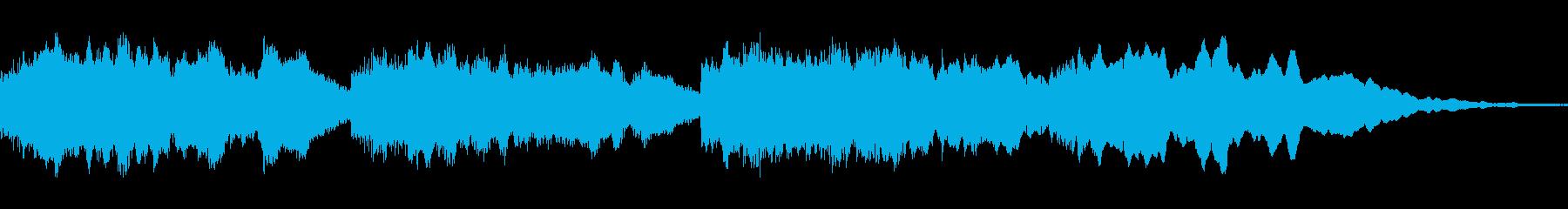 フルートが奏でる優しいソフトなメロディーの再生済みの波形