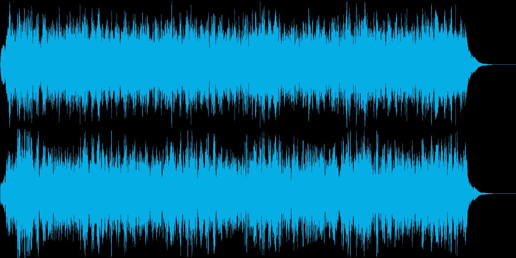 ウァ~ン。サイレン・警報B(高・長)の再生済みの波形