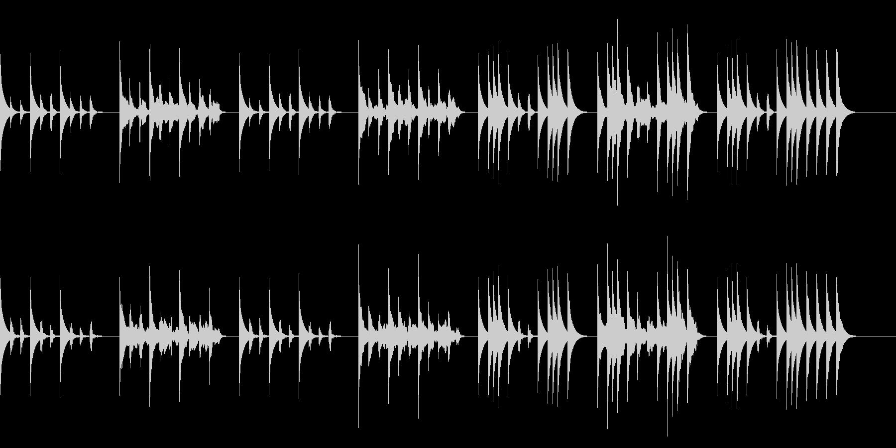 たどたどしいメロディー2/バレンタインの未再生の波形