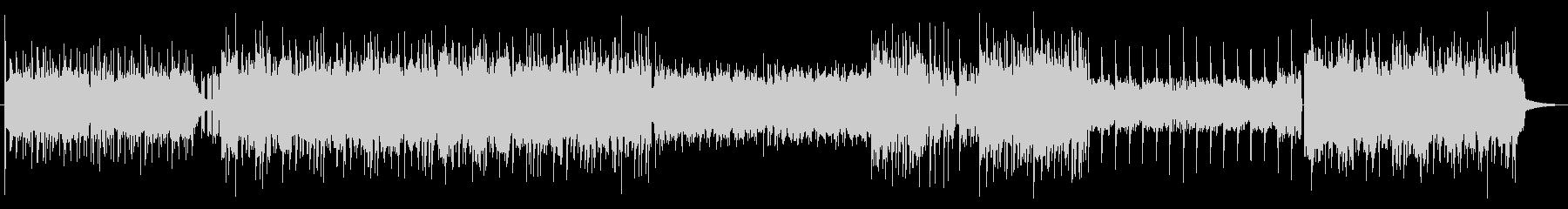 エンディング曲っぽいジャズ風ピアノEDMの未再生の波形