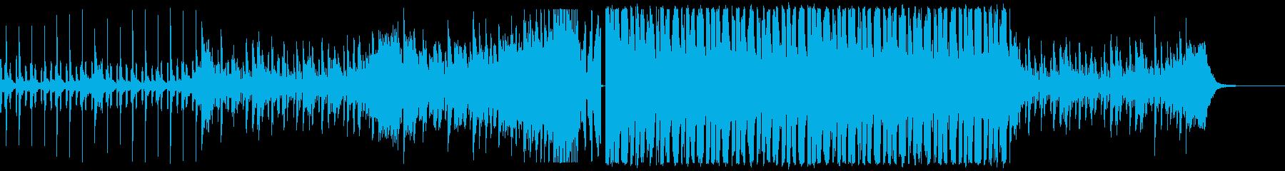 メロディ無しコミカル・軽快・爽やかEDMの再生済みの波形