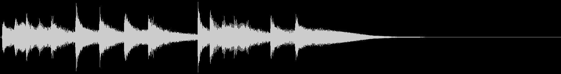 オリエンタル・リフの未再生の波形