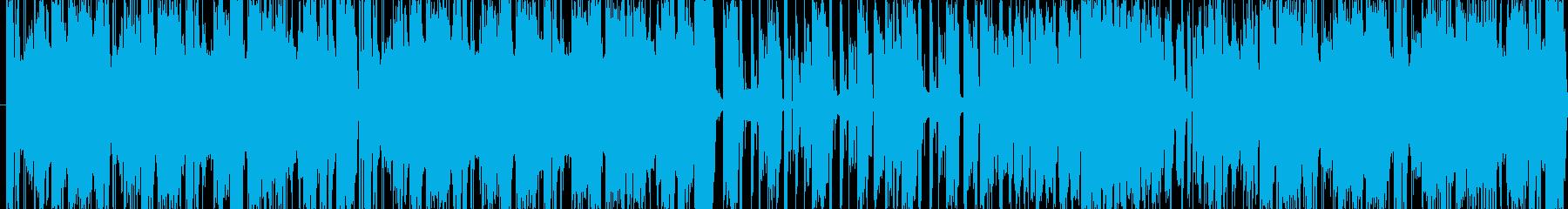 楽しそうな雰囲気の曲を目指して作りまし…の再生済みの波形