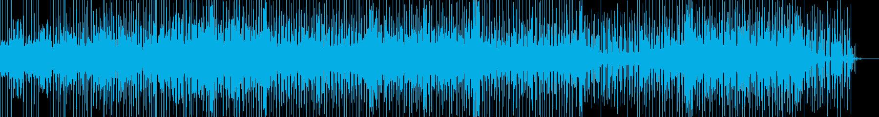 切なく爽やかなメロディと軽快なリズムの再生済みの波形