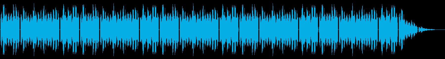 GB風スポーツ系格闘ゲームのED曲の再生済みの波形