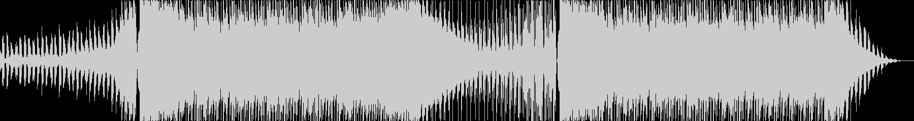 キャッチーで少しダークなEDMの未再生の波形