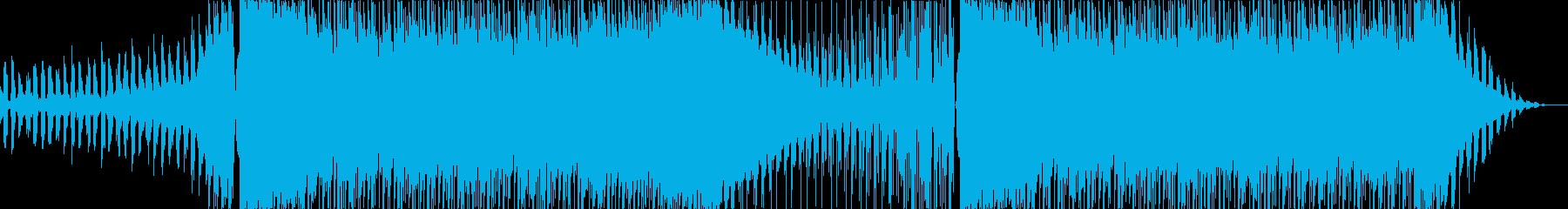 キャッチーで少しダークなEDMの再生済みの波形