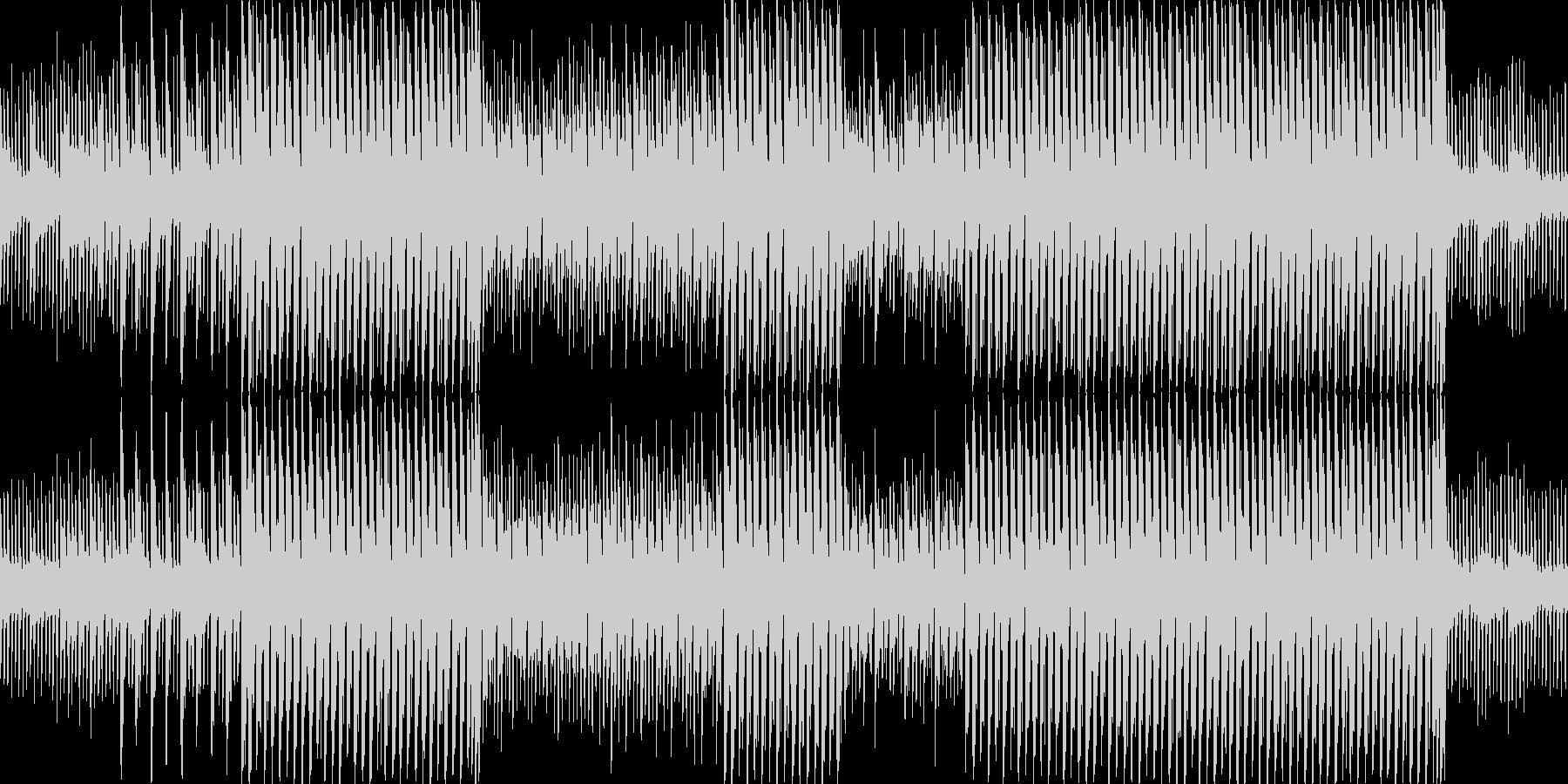 安心できる世界をな曲(ループ仕様)の未再生の波形