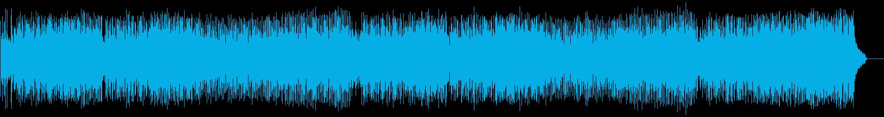 爽快なオープニング(フルサイズ)の再生済みの波形