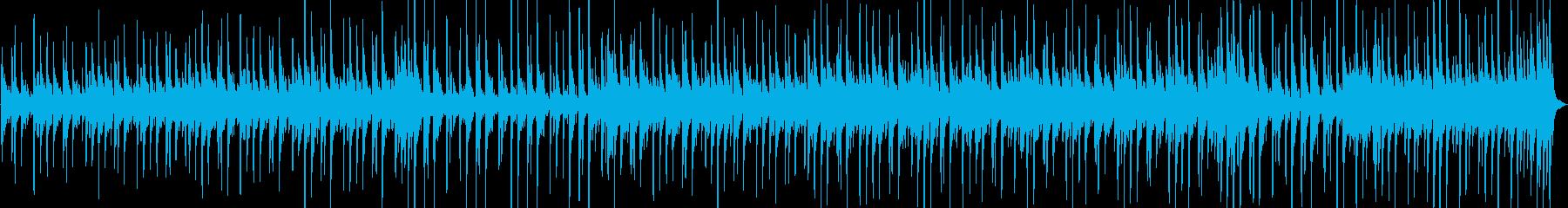 アコースティックギター、グロッケン...の再生済みの波形