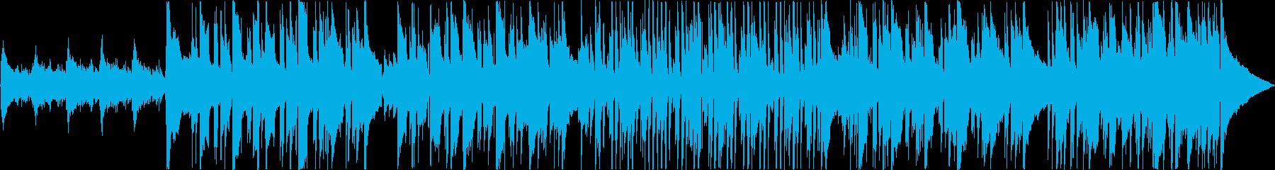 ゆったりなアコースティックギターバラードの再生済みの波形