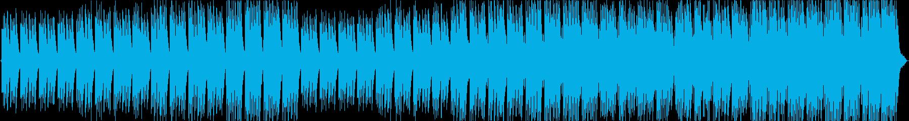 切なく、きれいな曲の再生済みの波形