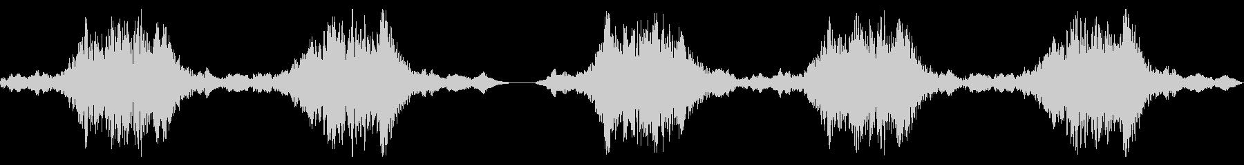 ホラーバーキングゴーストスウェルズの未再生の波形